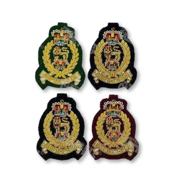AGC Officers' Beret Badge Embroidered Beret & Cap Badges Ammo & Company - Military Direct