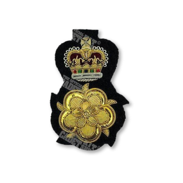 Lord Lieutenant's (England) Cap Badge Embroidered Beret & Cap Badges Ammo & Company - Military Direct