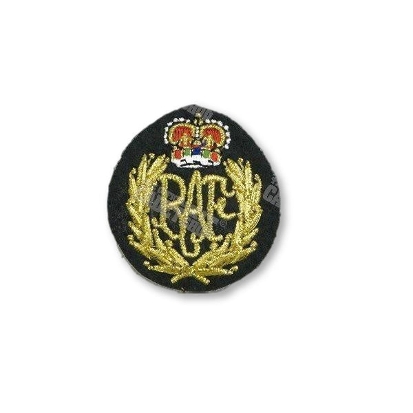 RAF Airmens Embroidered Cap Badge Embroidered Beret & Cap Badges Ammo & Company - Military Direct