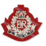 RMP Officers' Embroidered Beret Badge Embroidered Beret & Cap Badges Ammo & Company - Military Direct
