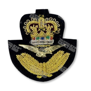 Royal Air Force Officers Beret Badge Embroidered Beret & Cap Badges Ammo & Company - Military Direct