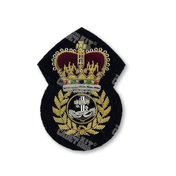 Royal Navy Chief Petty Officer Cap Badge Embroidered Beret & Cap Badges Ammo & Company - Military Direct