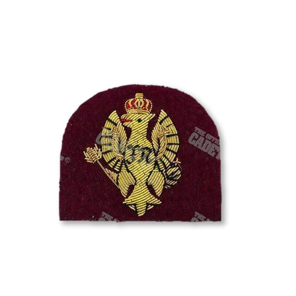 The King's Royal Hussars Officers' Beret Badge Embroidered Beret & Cap Badges Ammo & Company - Military Direct