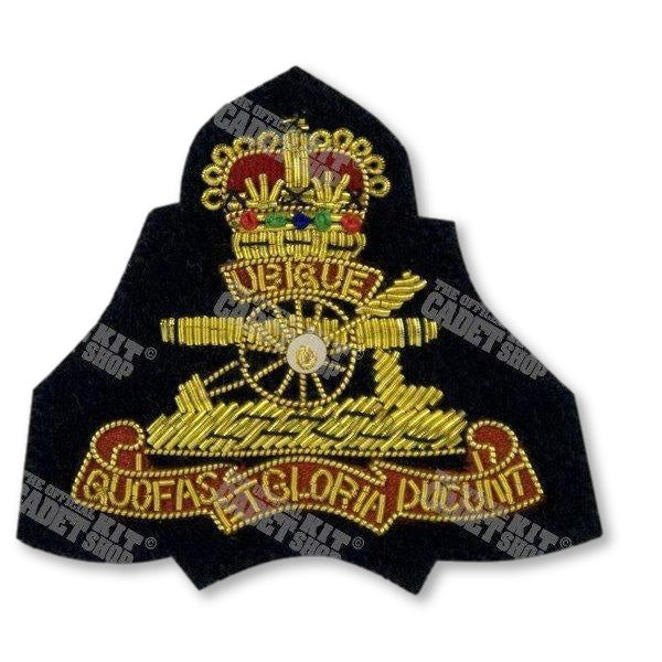 The Royal Regiment of Artillery Embroidered Badge Embroidered Beret & Cap Badges Ammo & Company - Military Direct