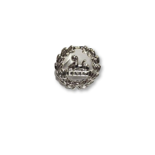 Forage Cap Back Badge - The Rifles - Sil. Plate 2 Prongs [product_type] Ammo & Company - Military Direct