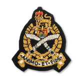 GSPS- Officers' Beret Badge  - Black Ground [product_type] Ammo & Company - Military Direct