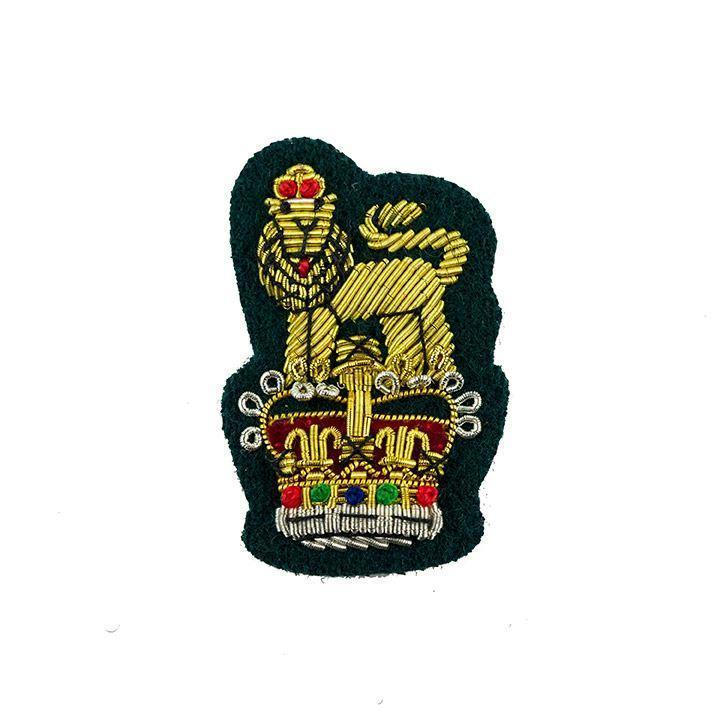 Staff Officer Beret Badge Commando Green Ground [product_type] Ammo & Company - Military Direct