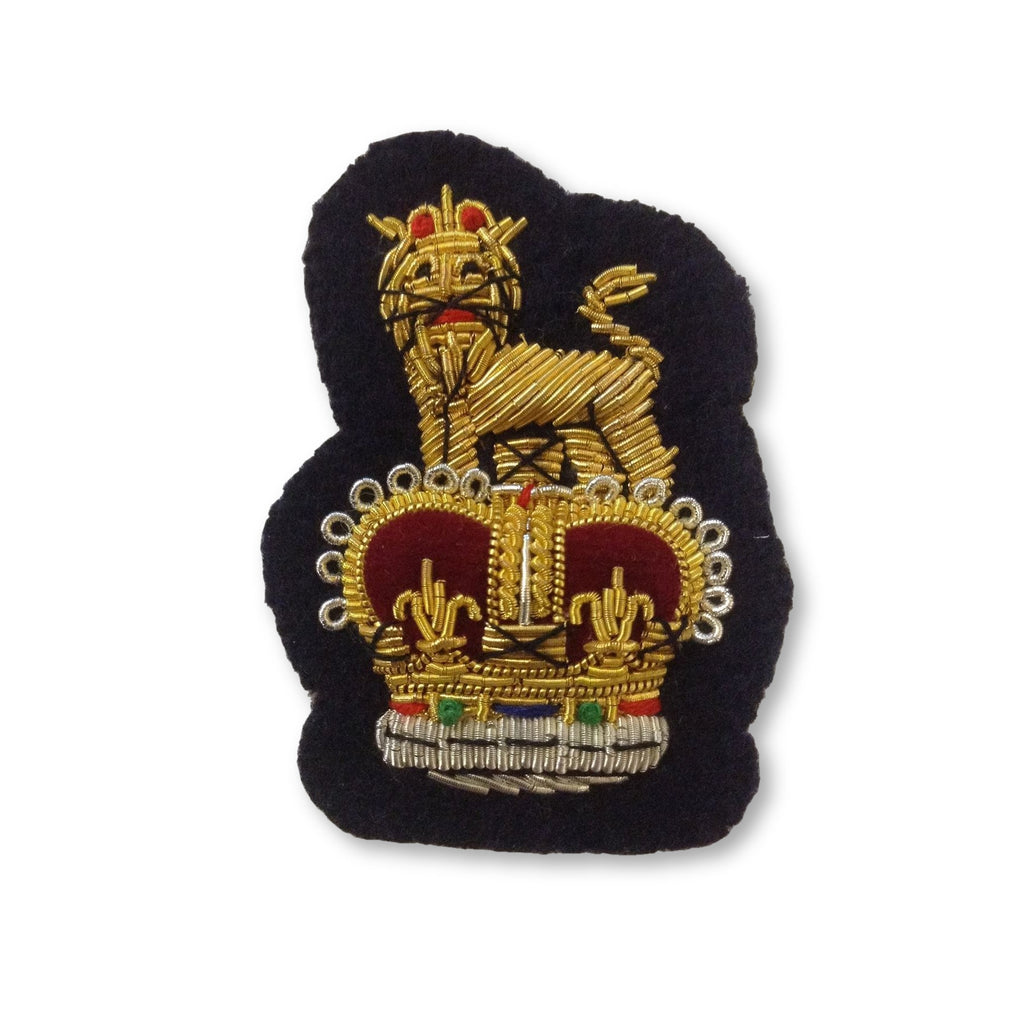 Staff Officer Beret Badge Navy Ground [product_type] Ammo & Company - Military Direct
