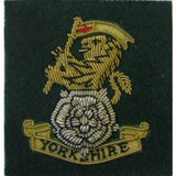 The Yorkshire Regiment Officers Beret badge