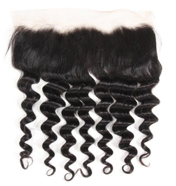 """Zurri Wave"" Malaysian Loose Wave Bundle Deal w/ Frontal"