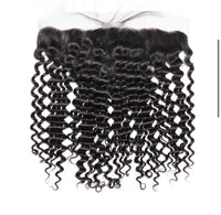 HD Deep Curly  Bundle Deal w/ Closure
