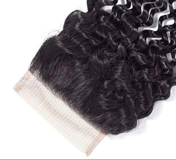 HD Exotic Curly Bundle Deal w/ Closure