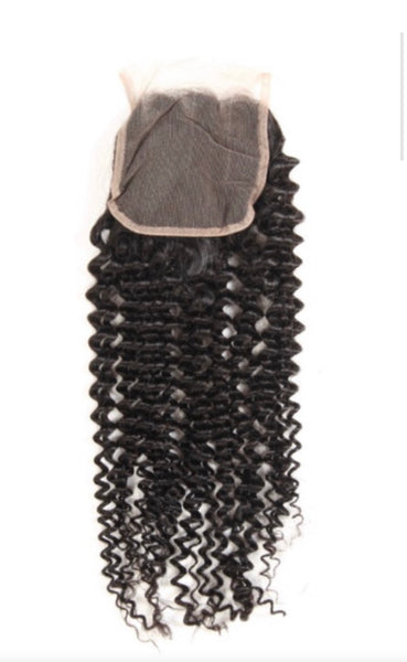 HD Kinky Curly Closure