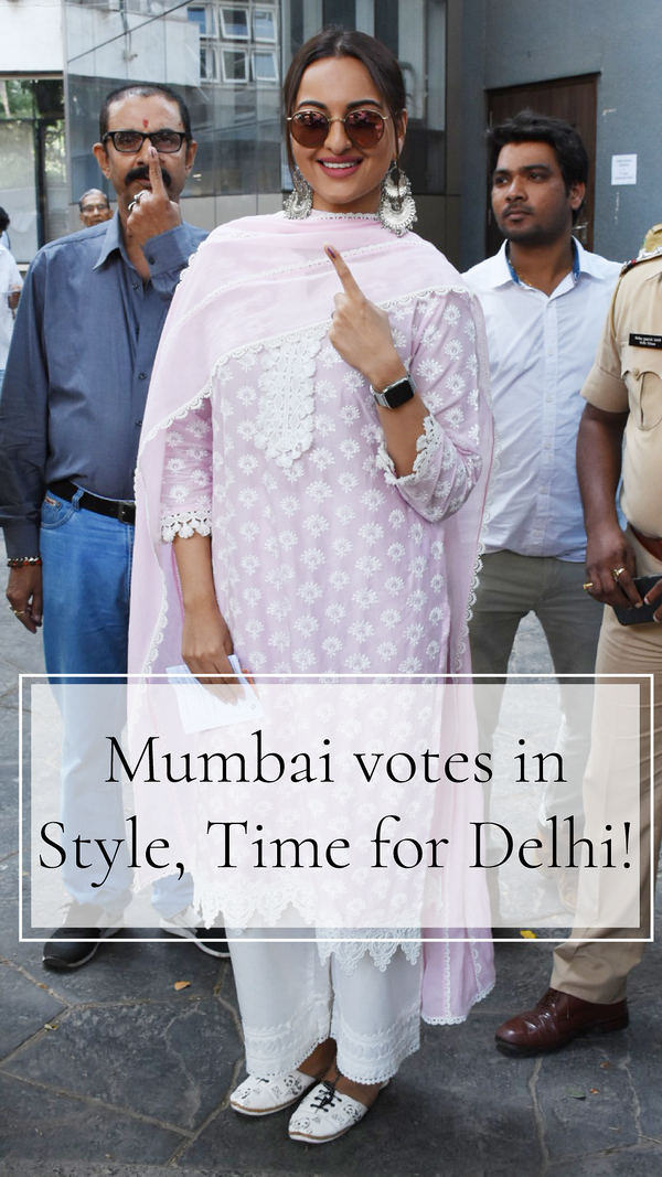 Mesmerising Mumbai voted in style, Time for Delhi to dazzle.