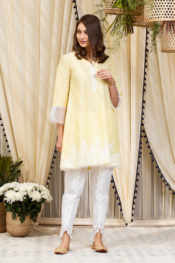 Mulmul Cotton Clara Kurta