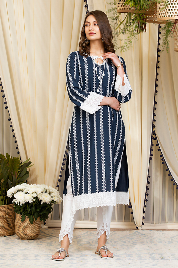 Mulmul Cotton Gianna Kurta