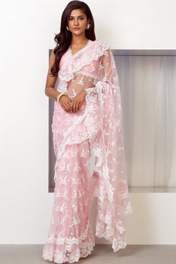Glamour Net Saree