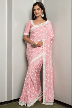 Japanese Silk Luana saree