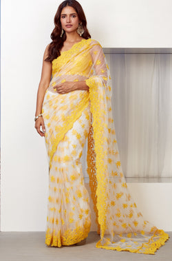 ALLURE NET SAREE