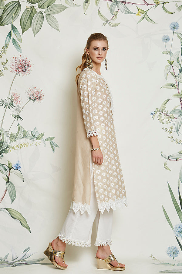 HOLLY KURTA (BEIGE)