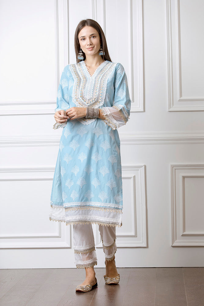 Mulmul Maple Kurta