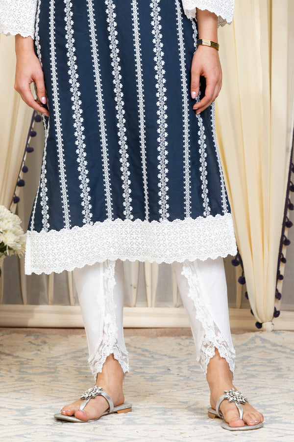 Mulmul Cotton Net Dhoti