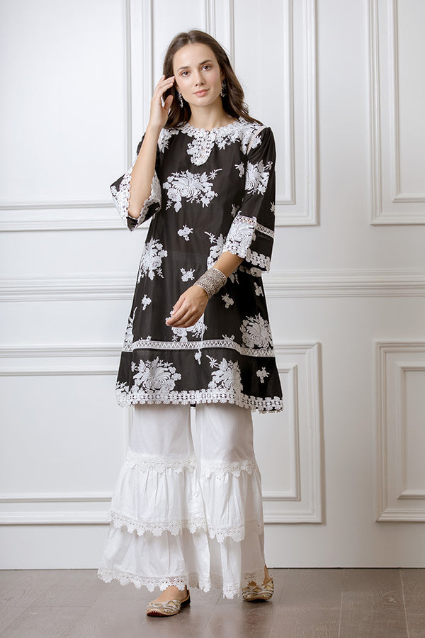 Mulmul Sunflower Kurta