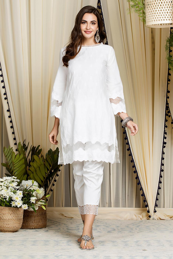 Mulmul Cotton Nora Kurta