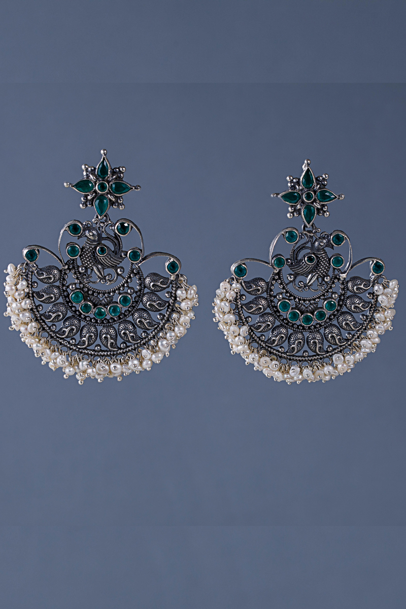 Silver Saumya Earrings