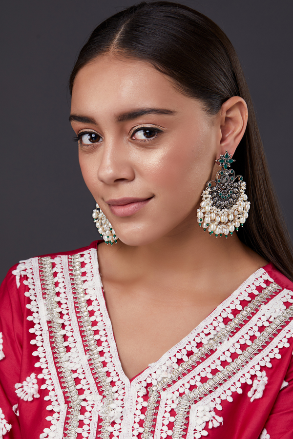 SILVER ANIHA EARRINGS