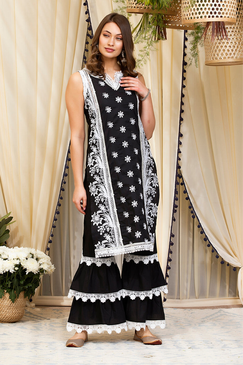 Mulmul Cotton Sofia Kurta