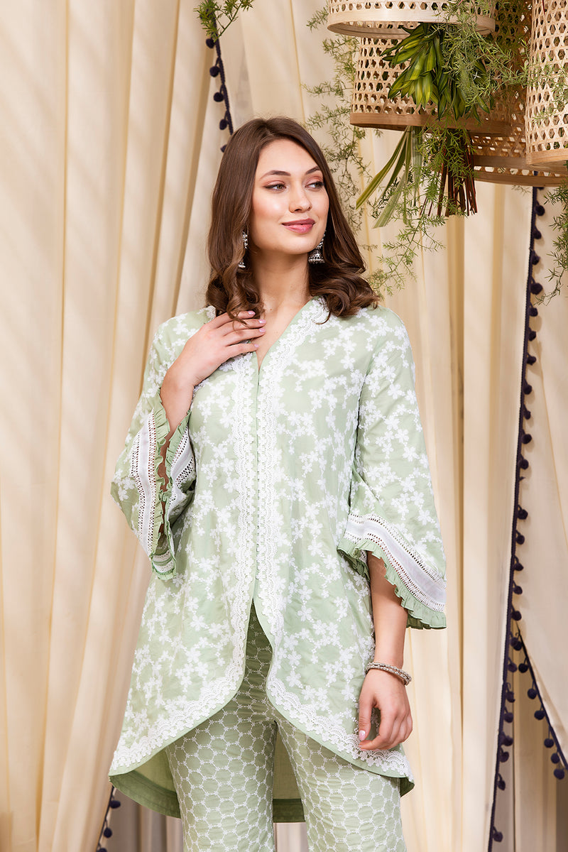 Mulmul Cotton Zeta Kurta