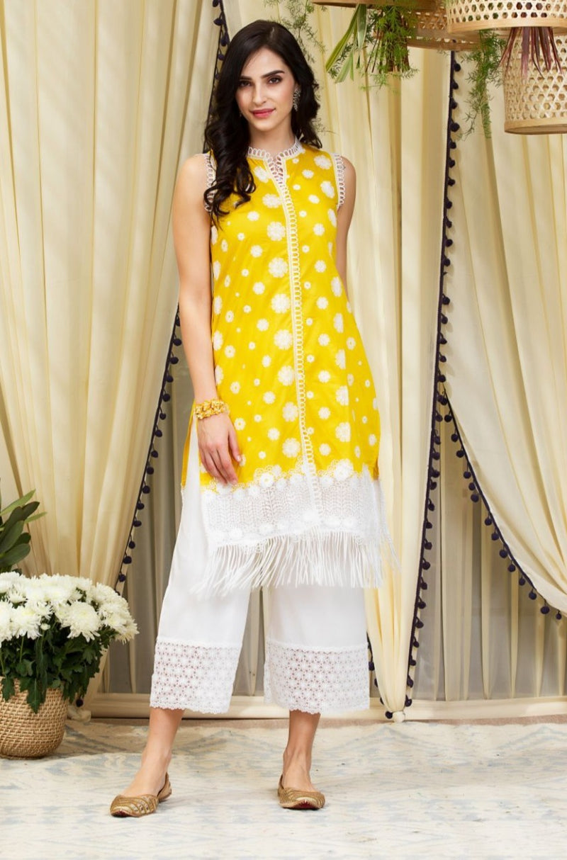 Mulmul Cotton Lucia Kurta