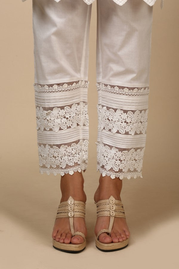 Pin Tuck Lace Pyajama