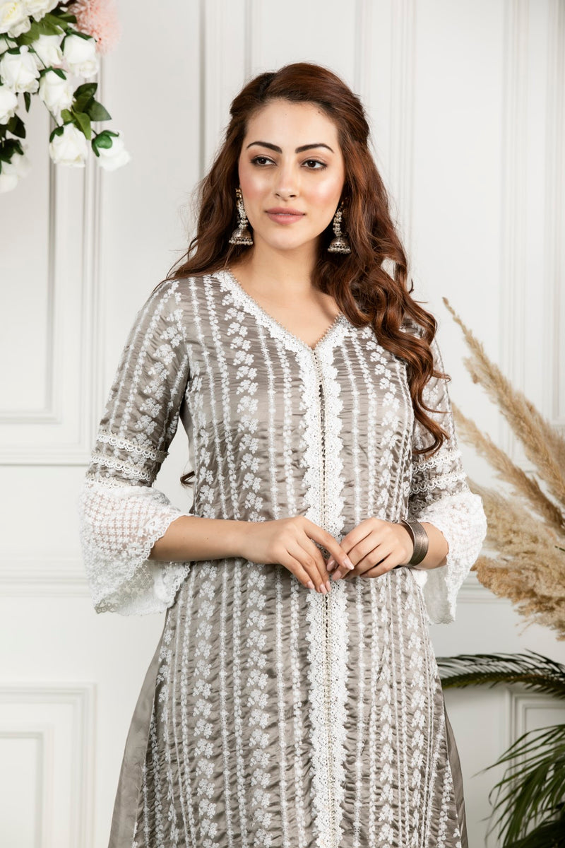 Mulmul Mayflower Kurta