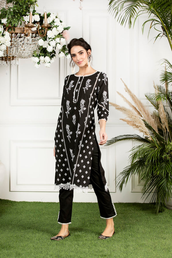 Mulmul cotton  rue Kurta
