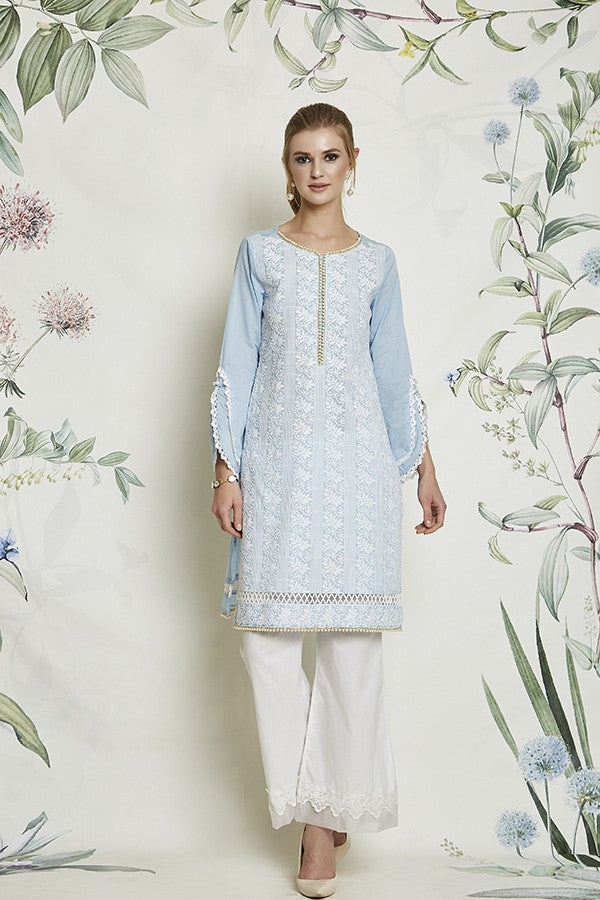 BASEL KURTA (LIGHT BLUE)