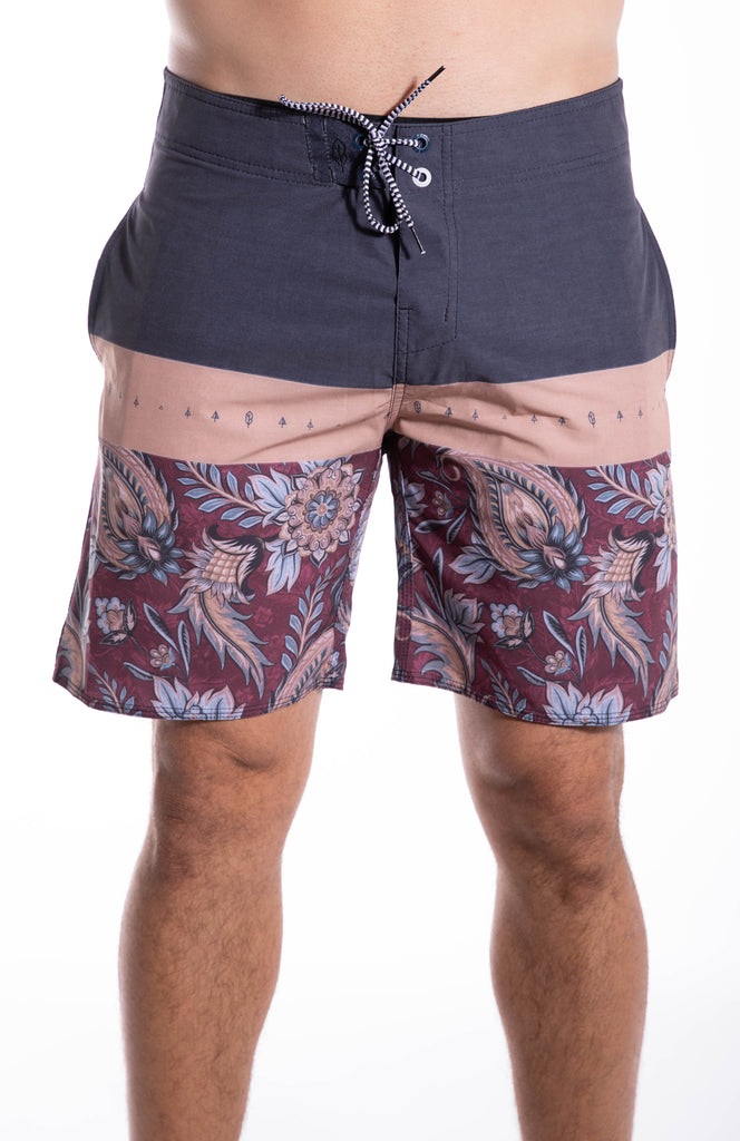 All Day Paisley Boardshort