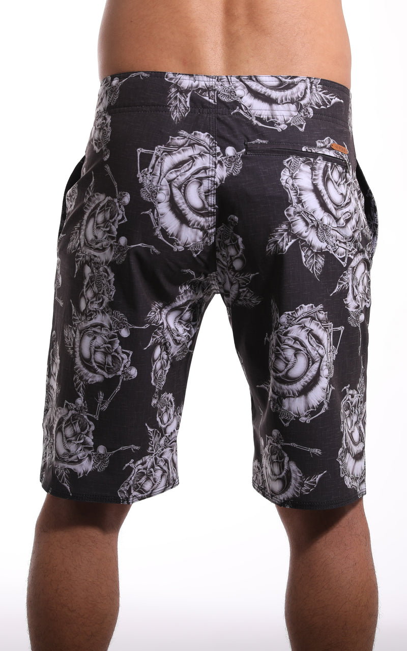 Rose Skull All Day Short - Pena Life