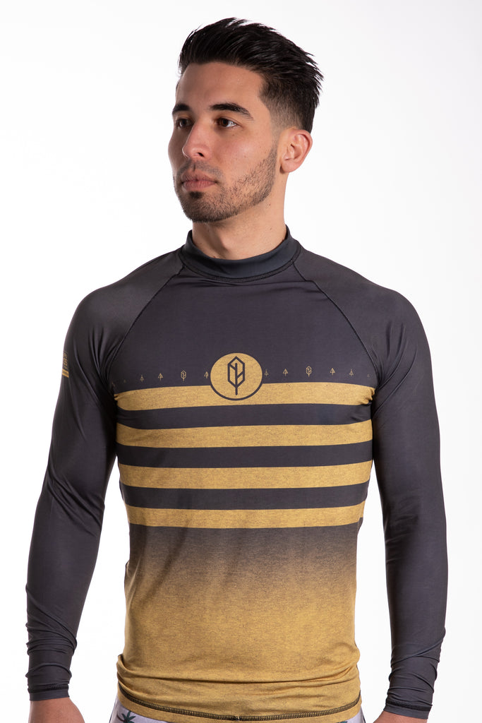 Multi Striped Performance Rash Guard