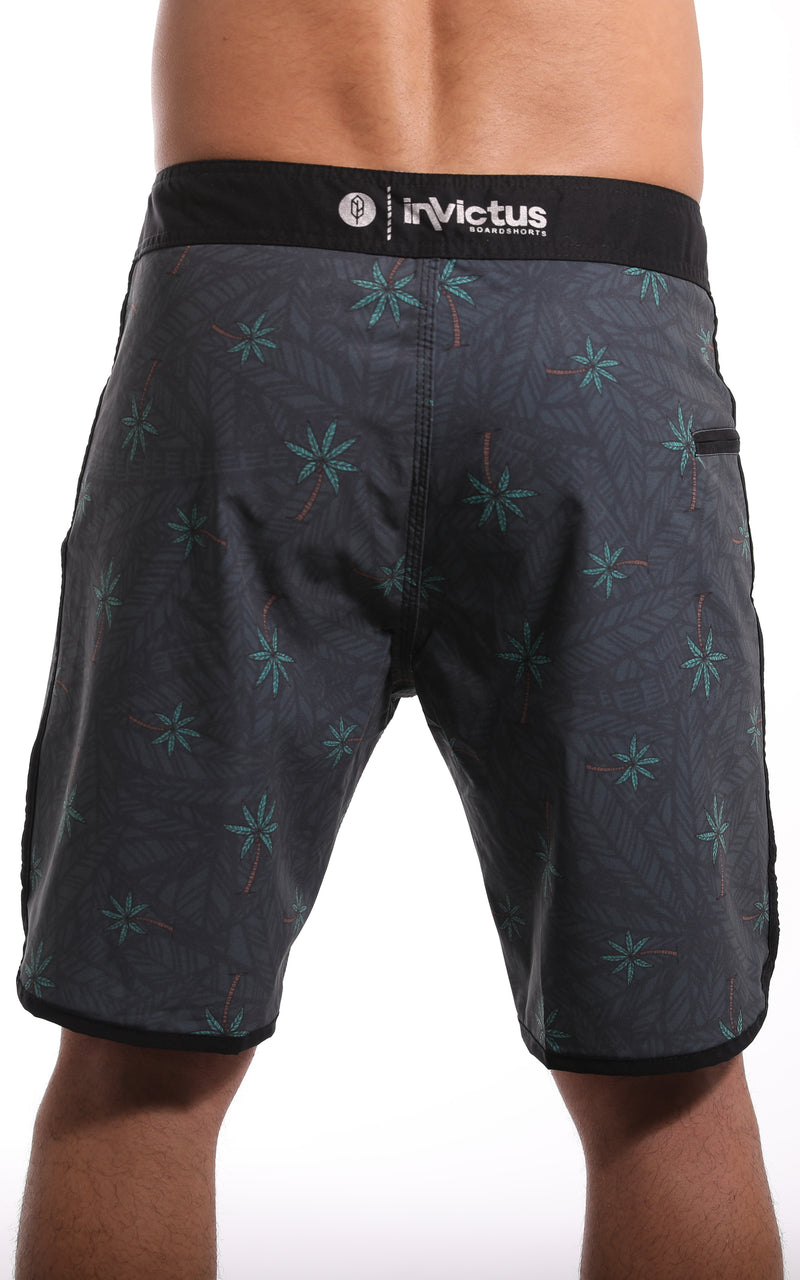 Relax Palm Scalloped High Performance Invictus Short - Pena Life