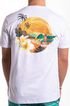 Footprints Graphic Tee