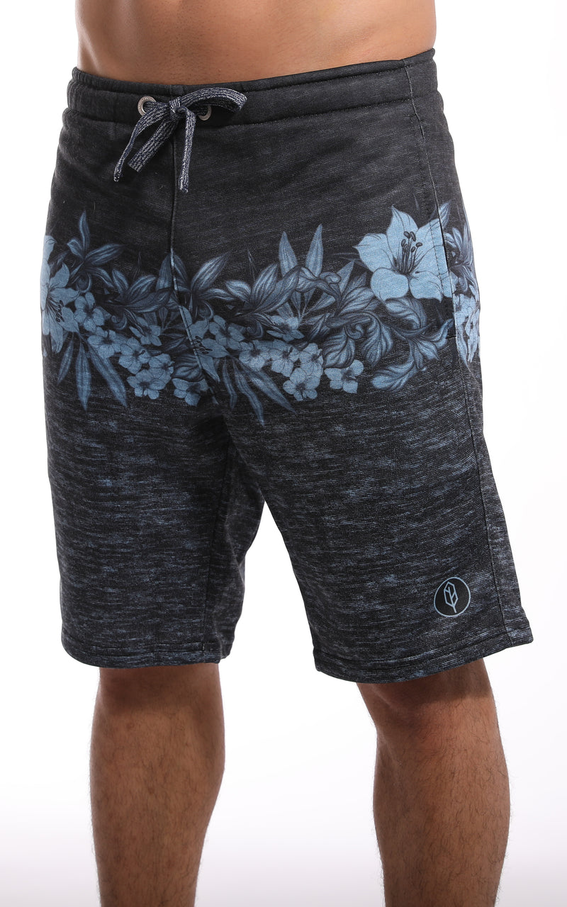 Tropical Banded Sweat Short - Pena Life