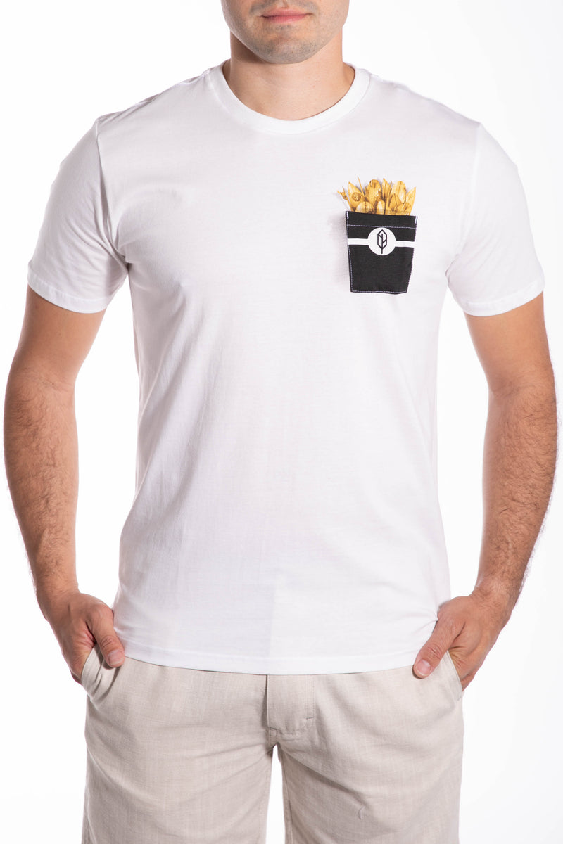 Rotten Surf Fries Pocket Tee