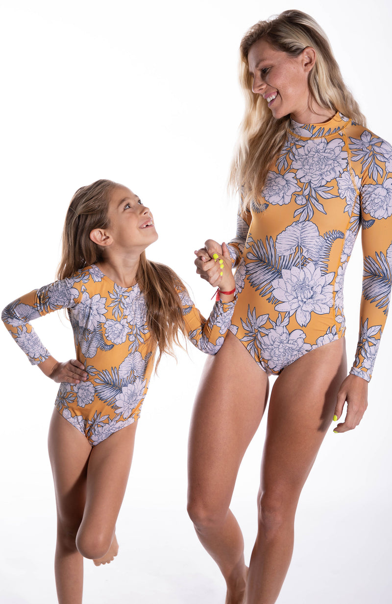 Ava Floral Mini Bodysuit