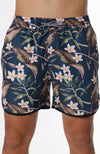 Tropical Banded Sweat Short