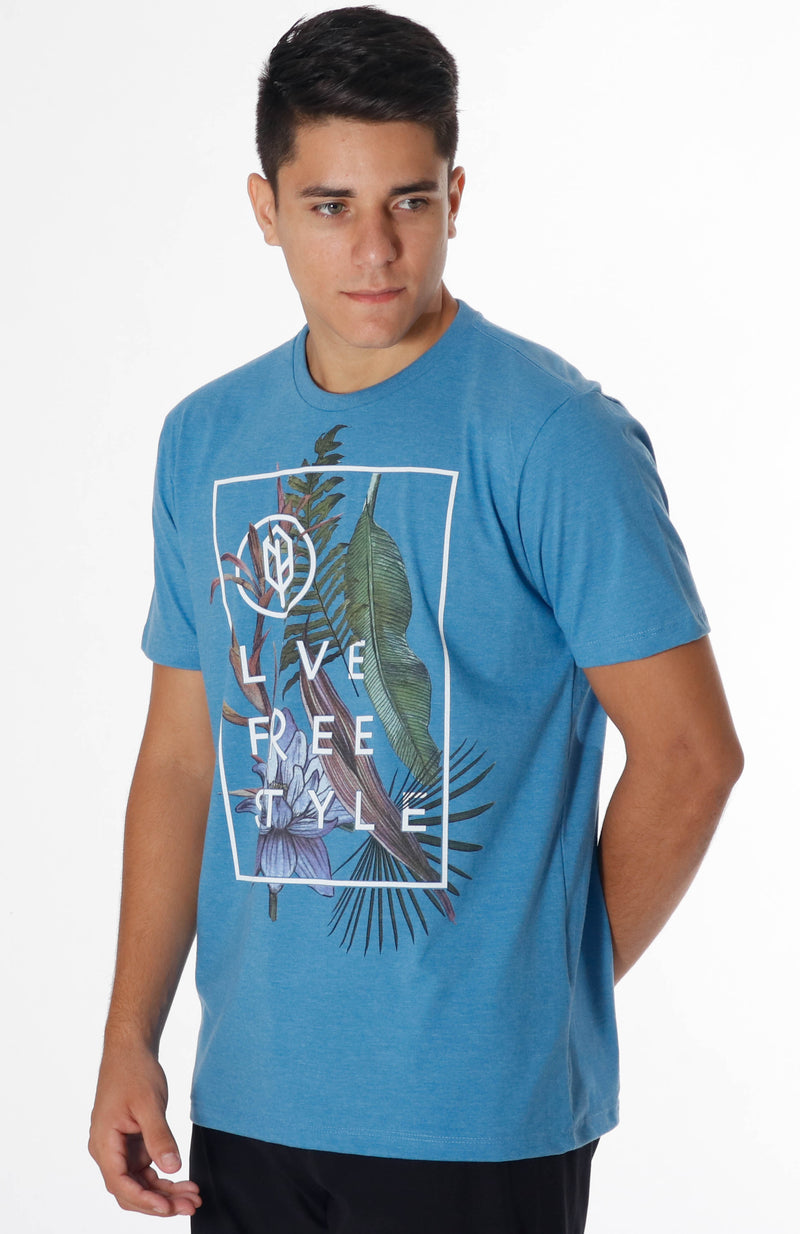 Live FreeStyle Recycled Tee