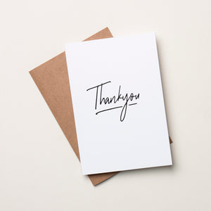 Thankyou Card - By the Aroha Project