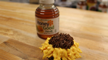 Honey Sunflower Cupcakes