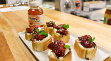 Strawberry & Ricotta Bruschetta